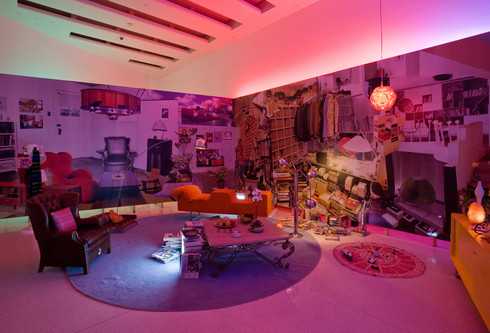 Tony Podesta Living Room