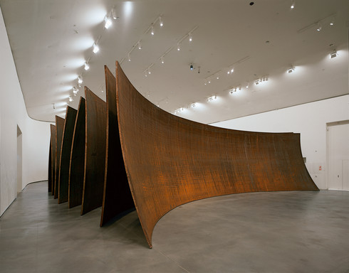 Collection Online Richard Serra Between The Torus And
