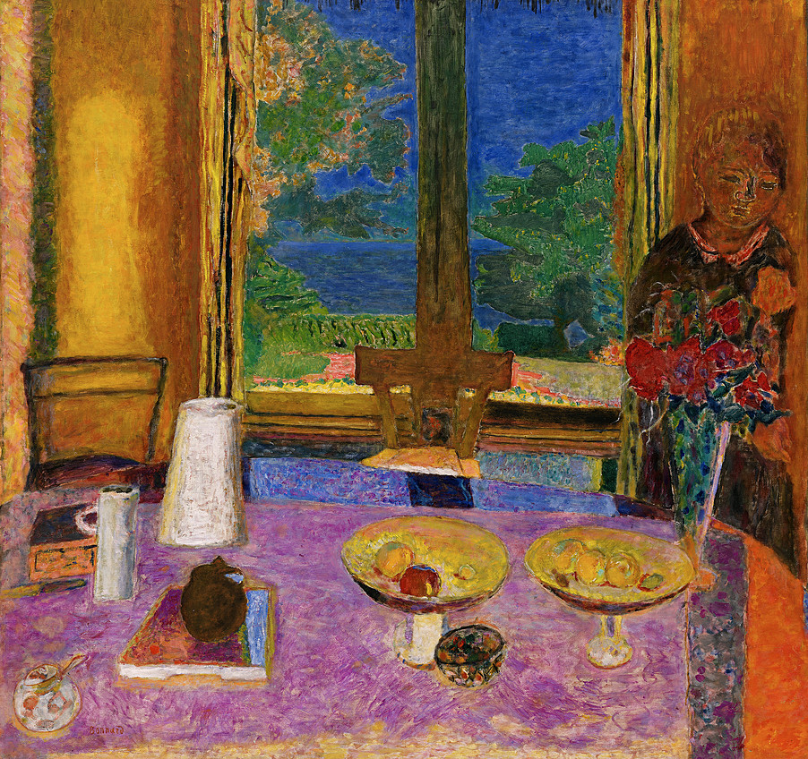 Collection online pierre bonnard dining room on the for Salle a manger de jardin