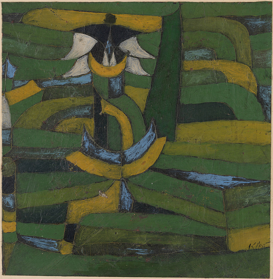 collection online paul klee white blossom in the garden. Black Bedroom Furniture Sets. Home Design Ideas