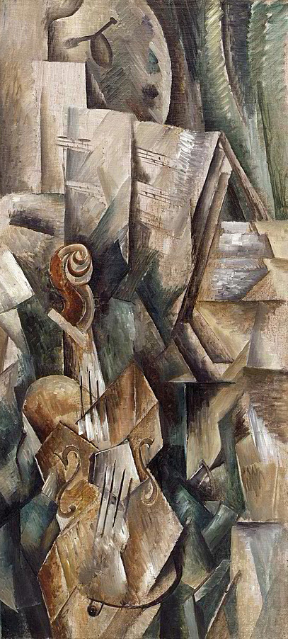 Collection Online | Georges Braque. Violin and Palette ...