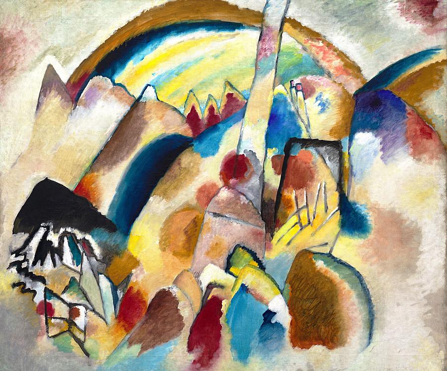 Vasily Kandinsky  Landscape Kandinsky Landscapes