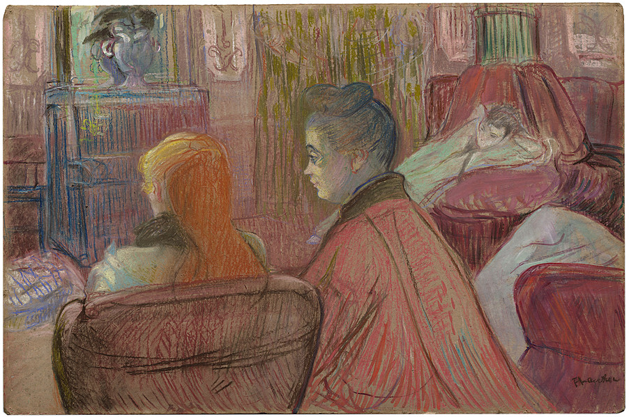 Collection online henri de toulouse lautrec in the for Salon bio toulouse